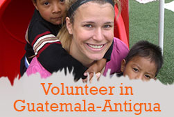 Volunteer in antigua