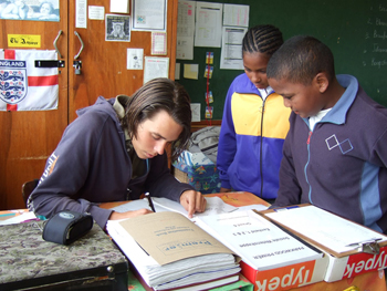 Volunteer Teaching English In Thailand Photograph By Jill Schneider