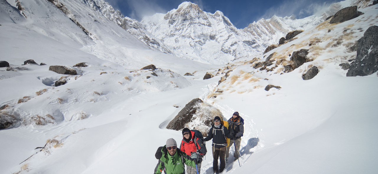 best time for trekking in annapurna base camp/annapurna base camp trek december nepal
