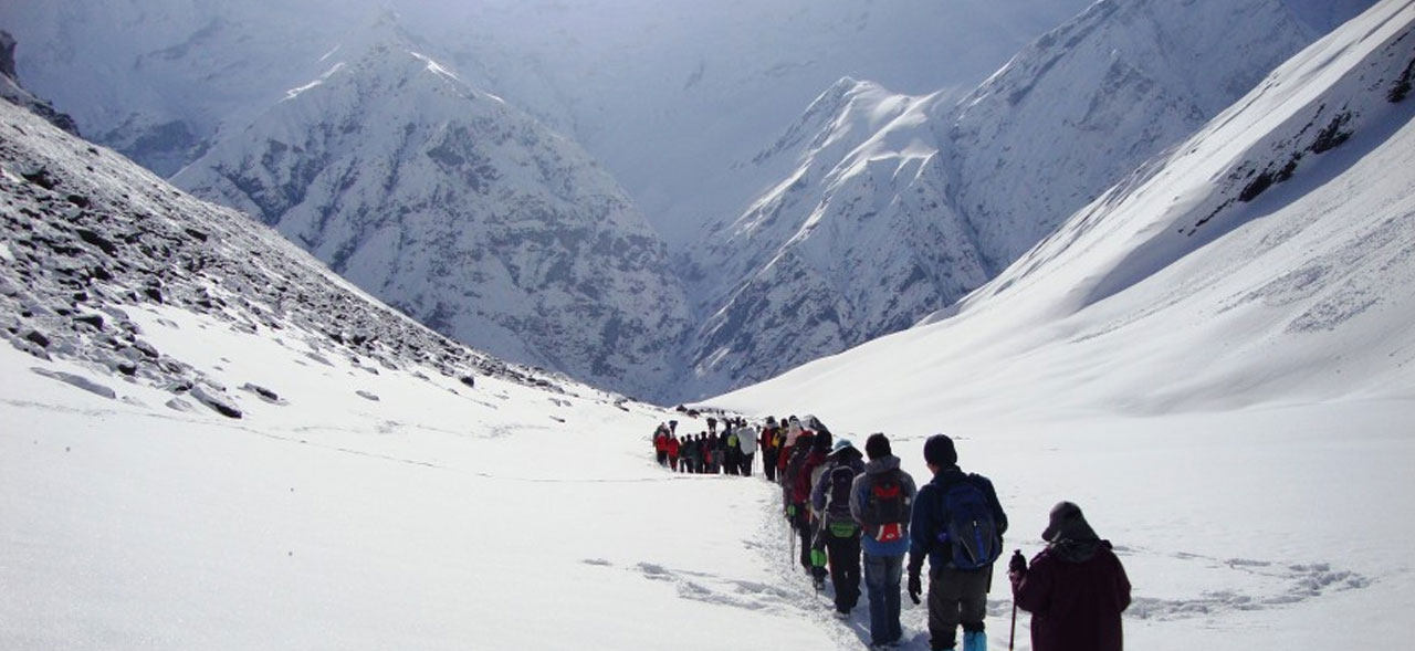 best time for trekking in nepal/annapurna base camp trek december